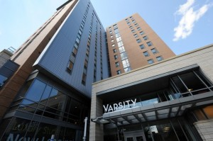 Varsity Apartments Completed Build